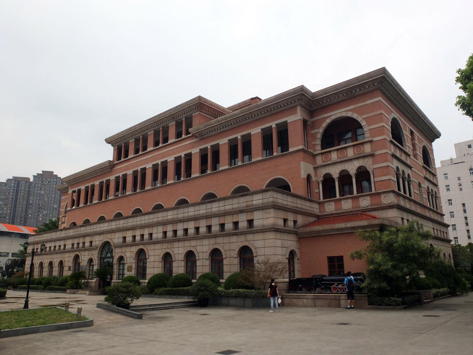 重建的上海老北站,现为上海铁路博物馆.JPG