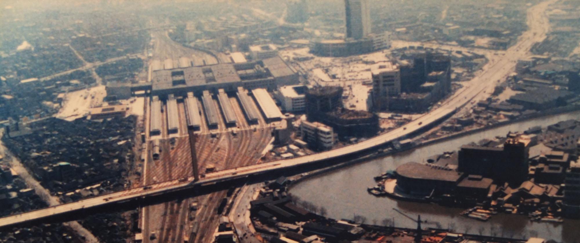 1987年上海新客站鸟瞰.JPG