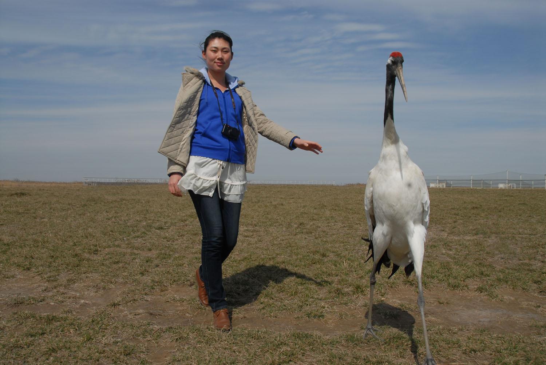 作者在盐城国家珍禽自然保护区体验生活.jpg